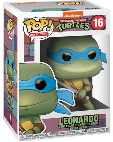 Figurine Funko Pop Tortues Ninja #16 Leonardo