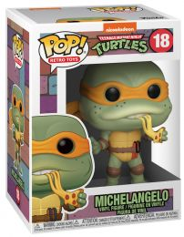 Figurine Funko Pop Tortues Ninja #18 Michelangelo