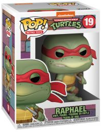 Figurine Funko Pop Tortues Ninja #19 Raphael