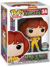 Figurine Funko Pop Tortues Ninja #34 April O'Neil