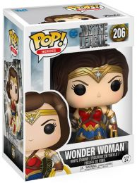 Figurine Funko Pop Justice League [DC] 13708 - Wonder Woman (206) pas chère
