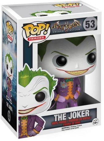 Figurine Funko Pop Batman Arkham Asylum #53 Le Joker