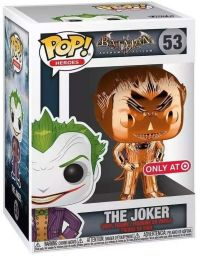 Figurine Funko Pop Batman Arkham Asylum #53 Joker chrome orange