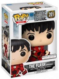 Figurine Funko Pop Justice League [DC] 14741 - Flash - Sans Masque (201) pas chère
