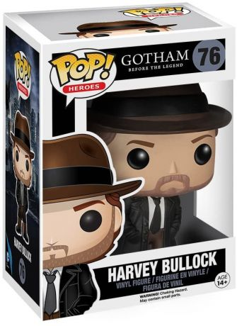 Figurine Funko Pop Gotham #76 Harvey Bullock