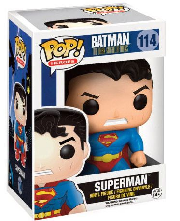 Figurine Funko Pop Batman: The Dark Knight Returns #114 Superman