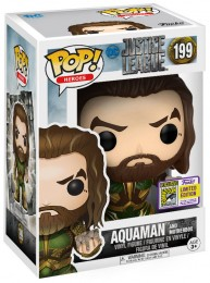 Figurine Funko Pop Justice League [DC] 14867 - Aquaman - Avec Mother Box (199) pas chère