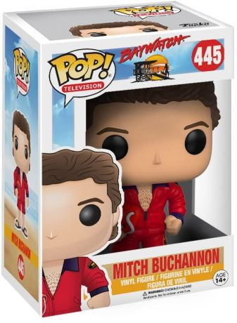 Figurine Funko Pop Alerte à Malibu #445 Mitch Buchannon