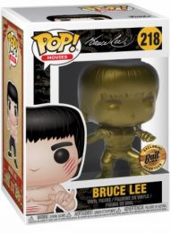Figurine Funko Pop Bruce Lee #218 Bruce Lee Or
