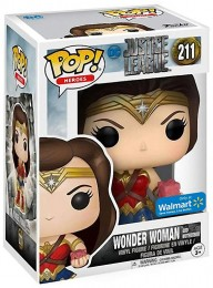 Figurine Funko Pop Justice League [DC] 14869 - Wonder Woman - Avec Mother Box (211) pas chère