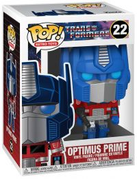 Figurine Funko Pop Transformers #22 Optimus Prime