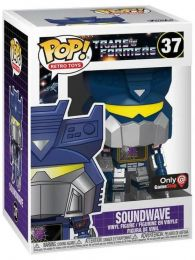 Figurine Funko Pop Transformers #37 Soundwave