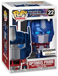 Figurine Funko Pop Transformers #22 Optimus Prime Métallique