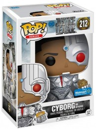 Figurine Funko Pop Justice League [DC] 14870 - Cyborg - Avec Mother Box (212) pas chère