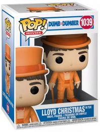 Figurine Funko Pop Dumb et Dumber #1039 Lloyd Christmas en smoking
