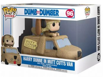Figurine Funko Pop Dumb et Dumber #96 Harry Dune dans une camionnette