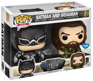 Figurine Funko Pop Justice League [DC] 21295 - Batman & Aquaman - 2 Pack  pas chère