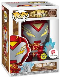 Figurine Funko Pop Infinity Warps #680 Iron Hammer