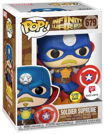 Figurine Funko Pop Infinity Warps #679 Soldier Supreme