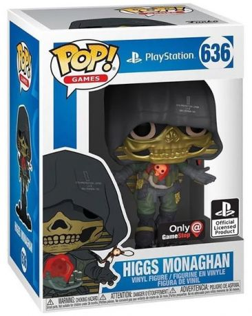 Figurine Funko Pop PlayStation #636 Higgs Monoghan