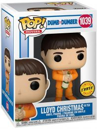 Figurine Funko Pop Dumb et Dumber #1039 Lloyd Christmas en smoking [Chase]