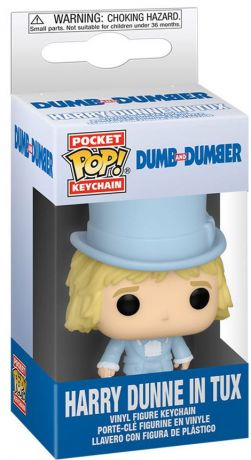 Figurine Funko Pop Dumb et Dumber #00 Harry en smoking porte-clés