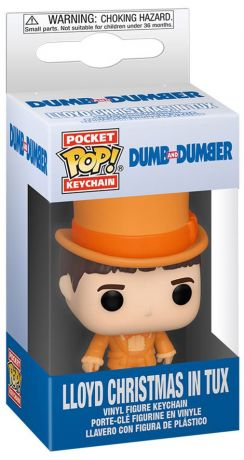 Figurine Funko Pop Dumb et Dumber #00 Lloyd Christmas en smoking porte-clés