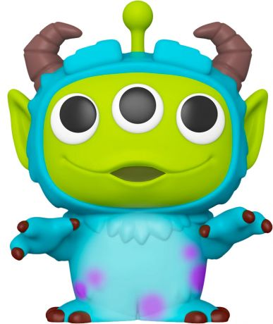 Figurine Funko Pop Alien Remix [Disney] #766 Sulley 25 cm