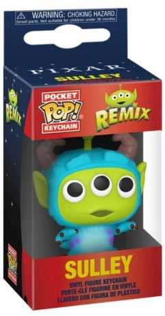 Figurine Funko Pop Alien Remix [Disney] #00 Sulley porte clés