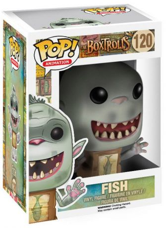 Figurine Funko Pop Les Boxtrolls #120 Fish