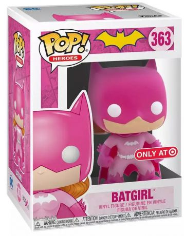 Figurine Funko Pop DC Super-Héros #363 Batgirl (cancer du sein)