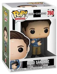 Figurine Funko Pop Club de Cuervos #760 Hugo Sanchez