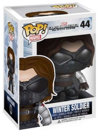 Figurine Funko Pop Captain America : Civil War [Marvel] #44 Soldat D'hiver