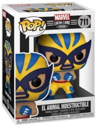 Figurine Funko Pop Marvel Lucha Libre #711 El animal indestructible