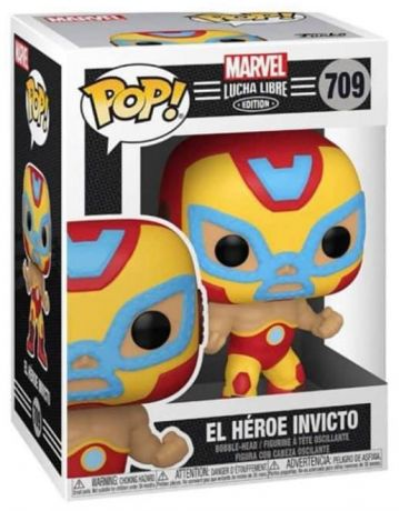 Figurine Funko Pop Marvel Comics #709 El Héroe Invicto