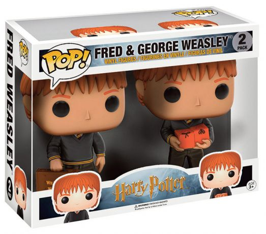 Figurine Funko Pop Harry Potter #00 Fred et George Weasley - Pack
