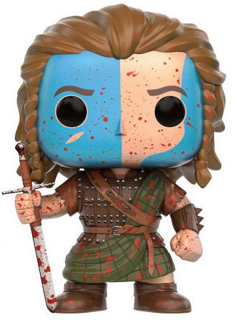 Figurine Funko Pop Braveheart #368 William Wallace sang