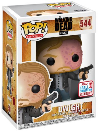 Figurine Funko Pop The Walking Dead #544 Dwight - Visage brûlé