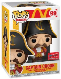 Figurine Funko Pop McDonald's #99 Capitaine Crook
