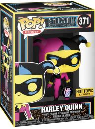 Figurine Funko Pop DC Comics #371 Harley Quinn Black Light