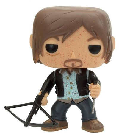 Figurine Funko Pop The Walking Dead #96 Daryl Dixon - Ensanglanté