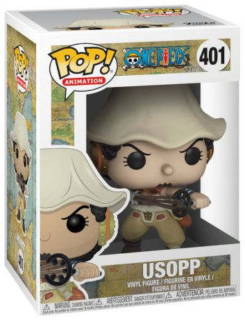 Figurine Funko Pop One Piece #401 Usopp