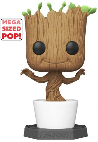 Figurine Funko Pop Les Gardiens de la Galaxie [Marvel] #01 Groot Dançant - 45 cm - Flocked