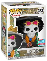 Figurine Funko Pop One Piece #358 Brook avec guitare