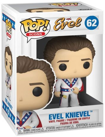 Figurine Funko Pop Being Evel #62 Evel Knievel