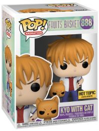 Figurine Funko Pop Fruits Basket #888 Kyo Sohma avec Chat