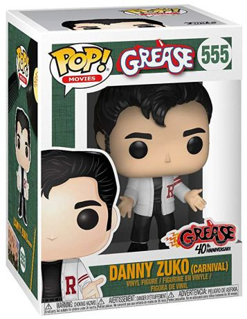 Figurine Funko Pop Grease #555 Danny Zuko - Carnaval