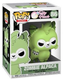 Figurine Funko Pop Tasty Peach #86 Alpaga Zombie