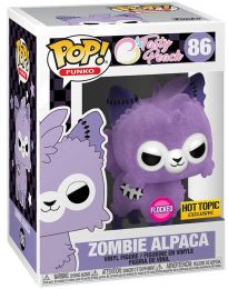 Figurine Funko Pop Tasty Peach #86 Alpaga Zombie - Flocked