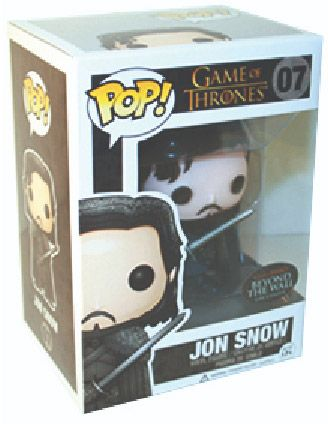 Figurine Funko Pop Game of Thrones #07  Jon Snow au-delà du mur